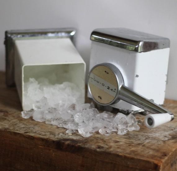 vintage antique ice o mat ice crusher. Black Bedroom Furniture Sets. Home Design Ideas