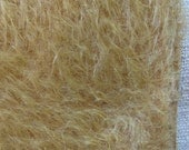 Rusty Gold Mohair Square 9 x 11 Ultra Sparse by cheswickcompany