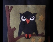 Hoot Owl Pillow E-PATTERN by cheswickcompany