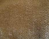 Antique Gold Mohair Fabric Square 5mm Sparse 9 x 22 cheswickcompany