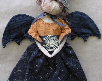 Bewitched Halloween Angel E-PATTERN by cheswickcompany