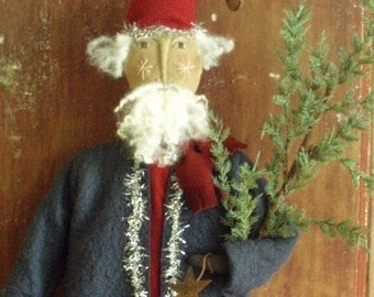 Americana Santa Christmas E PATTERN by cheswickcompany
