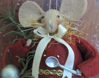 The Dormouse Alice in Wonderland Ornament E-PATTERN by cheswickcompany