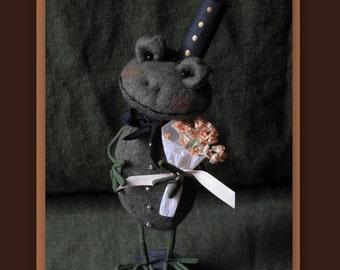 Patrick the Dapper Frog KIT by cheswickcompany