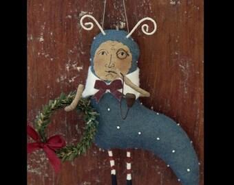 KIT Blue Caterpillar Ornament Alice in Wonderland by cheswickcompany