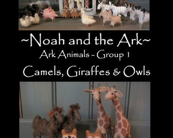 Noahs Ark- Ark Animals Group 1 - PRINTED PATTERN by cheswickcompany