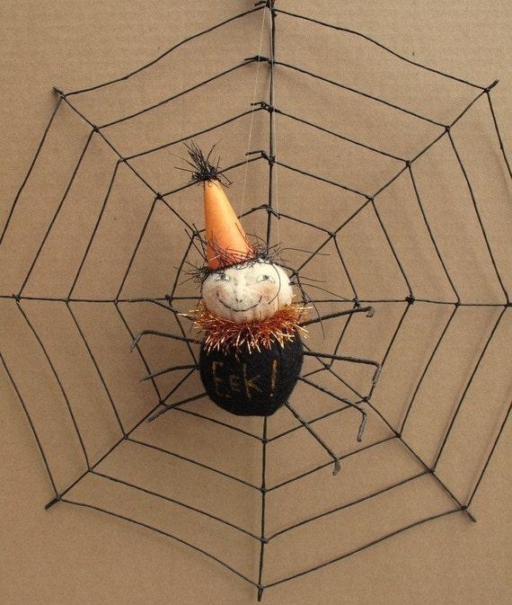 Fabulous Freida KIT  Web of Fright Spider and Web by cheswickcompany