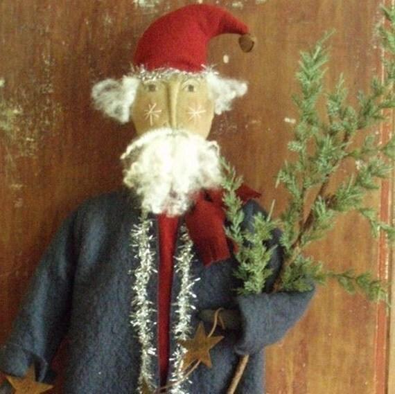 Americana Santa Christmas E PATTERN by cheswickcompany