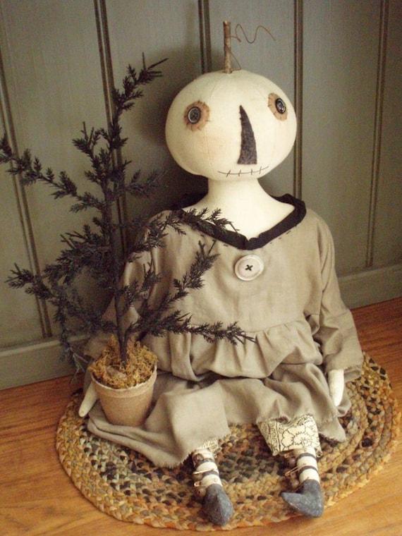 Luna Moon Halloween Folk Art E-PATTERN by cheswickcompany