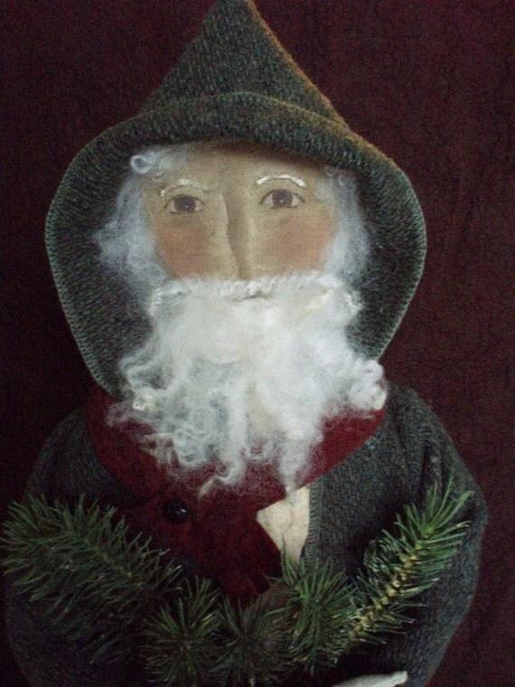 Primitive Folk Art Christmas Santa and Sheep E PATTERN by cheswickcompany