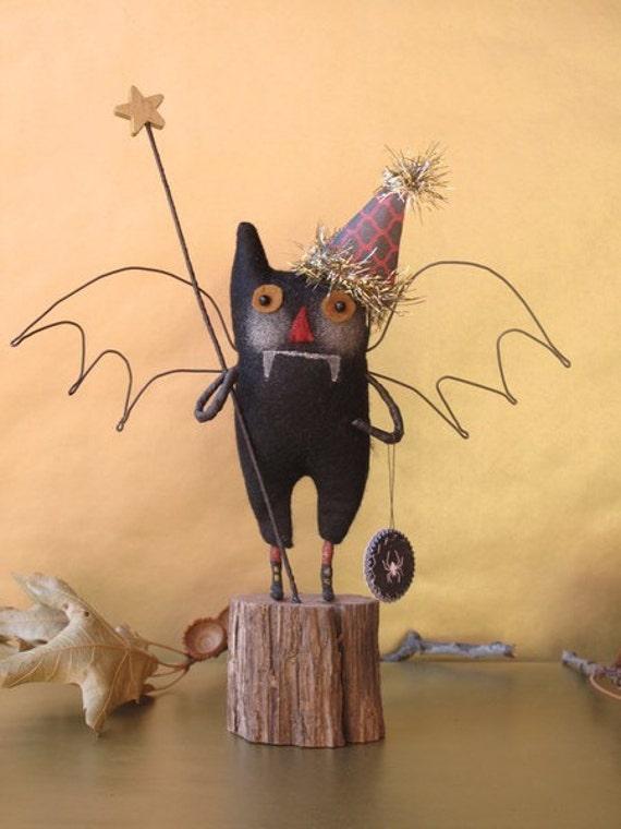 Batty Bat Boy READY TO SHIP by cheswickcompany
