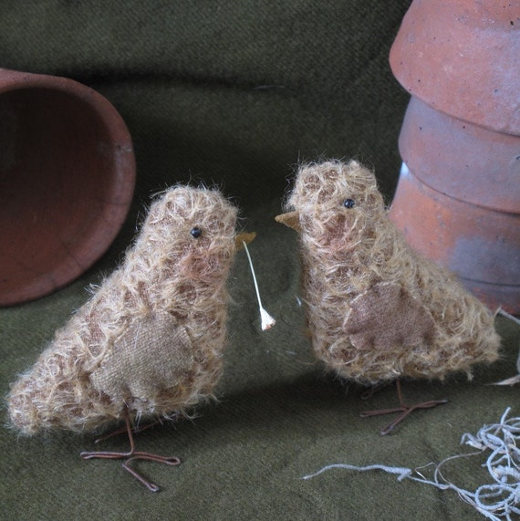 Mohair Spring Chicks E-PATTERN Easter by cheswickcompany