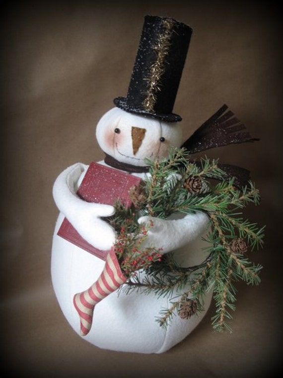Christmas Memories Snowman KIT by cheswickcompany
