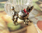 Vintage Poodle Pin Brooch French Poodle Dog Costume Jewelry - epsteam vestiesteam thebestvintage