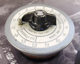Vintage Timer Guage Dial Retro Clothes Dryer Steampunk and Robot Parts ~ from Converged Commodities vestiesteam thebestvintage epsteam