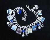 TITANIC Charm Bracelet  Commemorative 100th Anniversary Edition 8 Unforgettable Photo Charms