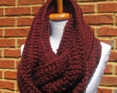 chunky cowl scarf,chunky scarf cowl,cowl chunky scarf,cowl scarf chunky,scarve scarf,crochet cowl scarf,scarf(Choose any color below)