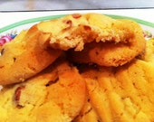 Recipe - Original 1950's Omi's Salty and Sweet Peanut Cookies. Family recipe. PDF format. FREE SHIPPING