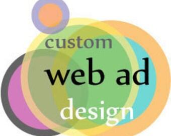 Web Ad Design for Facebook, Blog, and Craft Cult