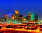 Dallas Skyline, HDR