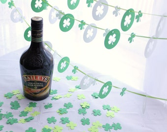 St Patricks Day Lucky Clover Party Pack