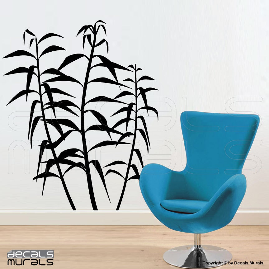 Wall decals REEDS Modern wall stickers Vinyl art decor by