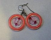 PIF- Pink Butterfly earrings