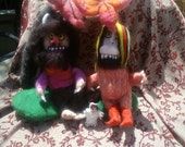 Felted Where the Wild Things Are Story Basket Set