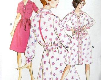 Kwik Sew 578 Shirt Dress Sewing Pattern Sz 8 10 12 UNOPENED Uncut  SEALED