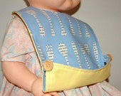 Baby toddler bib sewing pdf pattern ebook tutorial with buttons Instant Download