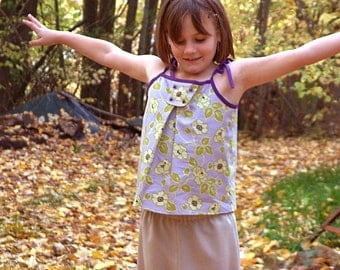 Girls shirt pdf ebook ON SALE sewing pattern dress