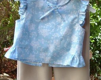 Girls top shirt tunic pattern pdf digital Instant Download sewing pattern tutorial ebook