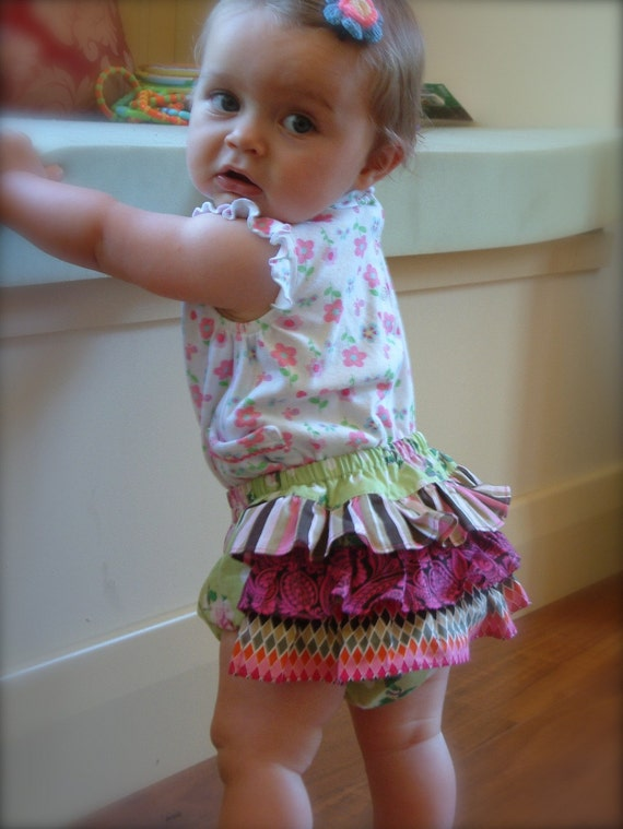 BLOOMERS Sewing PATTERN for baby PDF Instant Download tutorial boys girls Newborn to 18 months