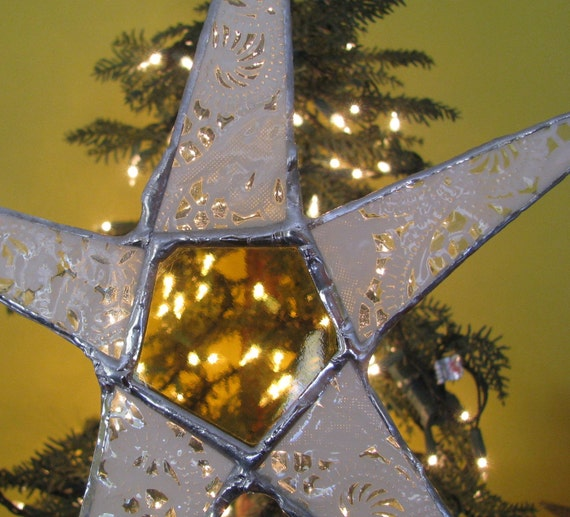 Snowflake Star Tree Topper