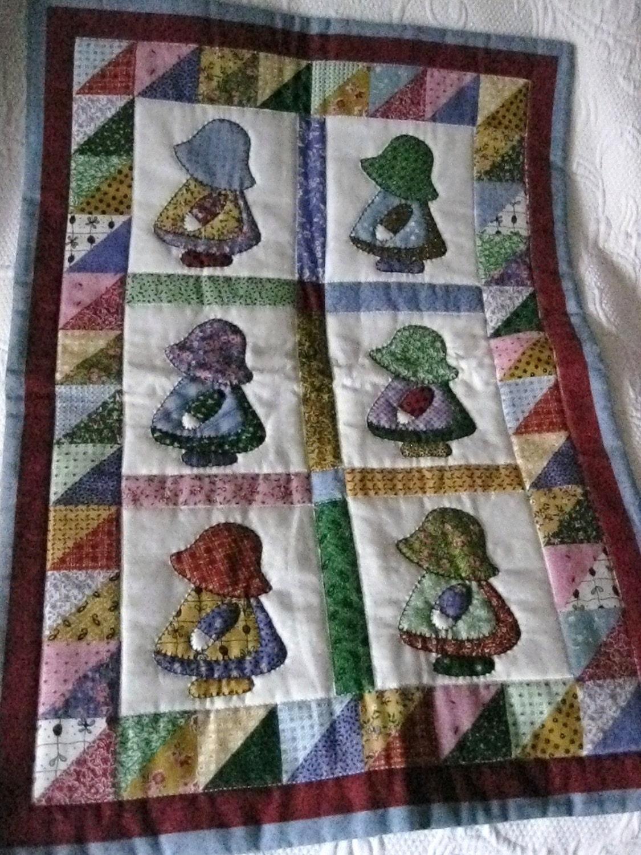 Vintage Sunbonnet Sue Little Quilts Quilt Wall
