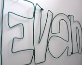 Personalized Wire Name for Baby Boy, Girl, or Home