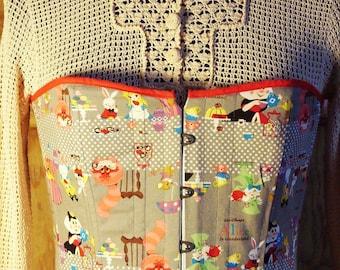 Alice in wonderland corset