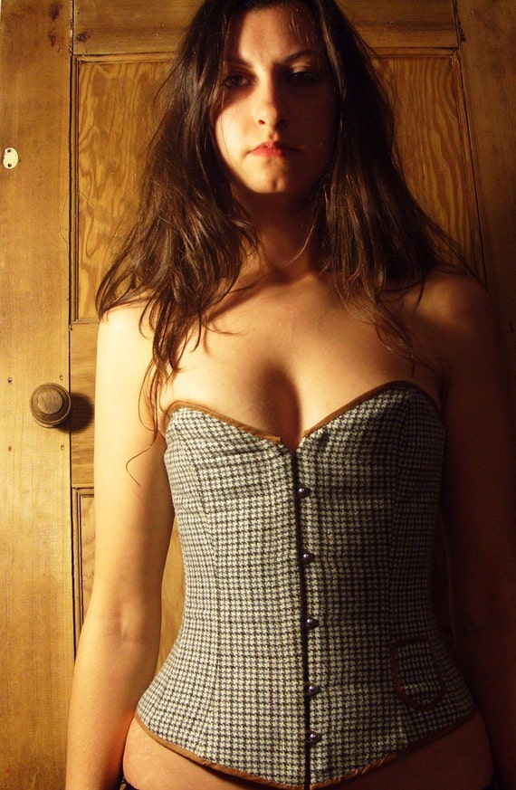 Yorkshire Tweed corset