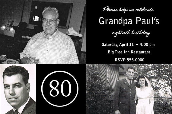 How To Make A Photo Collage For 80th Birthday   just b.CAUSE