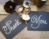 Thank You chalkboard photo prop