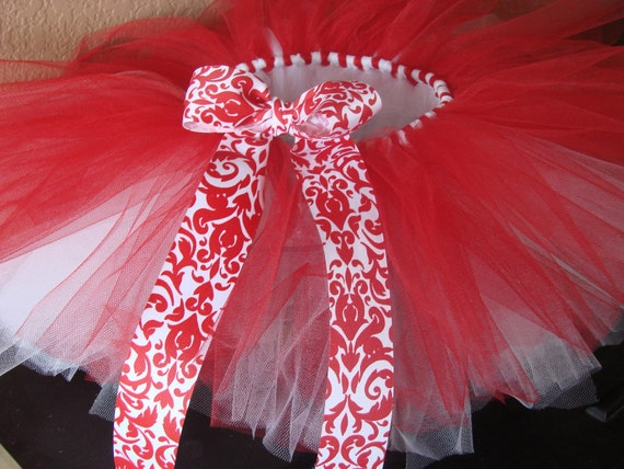 Red & White Girls Tutu