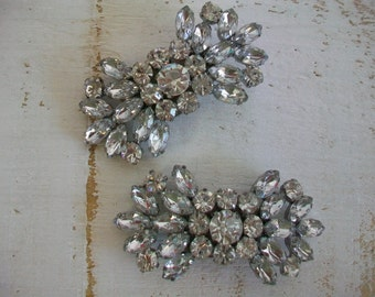 Wedding Shoe Clips - Sparkling Crystal Shoe Clips - Handmade For Wedding Shoes - Rhinestone Shoe Clips - Clips Designed By Parisxox