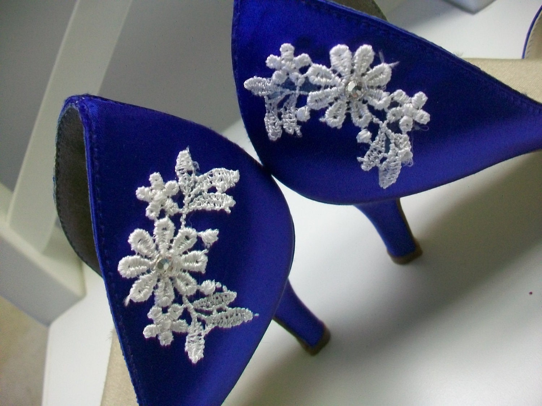 Royal Blue Wedding Heels: Items Similar To Blue Wedding Shoes