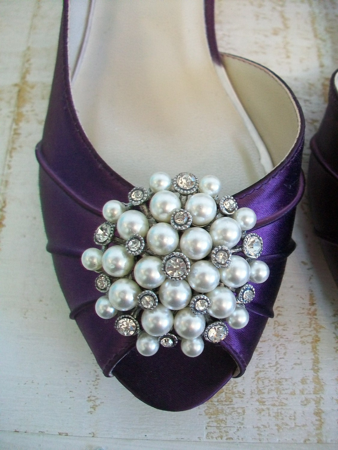 Purple Flat Wedding Shoes Wedding Shoes Plum Purple