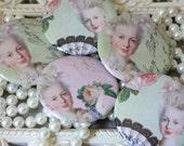 5 Marie Antoinette Pocket Mirrors