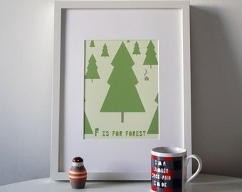 F for Forest (Print)