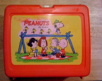 Peanuts Charlie Brown Lunchbox 1966