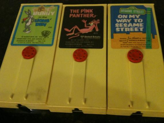 Set of 3 Vintage Movie Cartridges