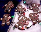 Gingerbread Man Sculpey Ornament