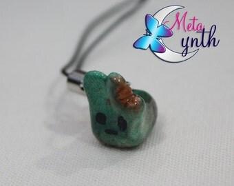 Cute Zombie Bunny Charm